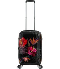 """triforce havana 22"""" carry on tropical floral luggage"""