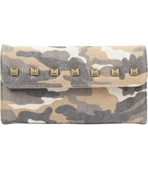 billetera militar beige humana