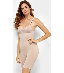 body slim sem costura lupo feminino