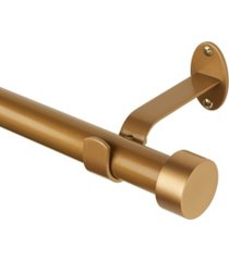 "serena adjustable 86""-120"" curtain rod with cap finials"