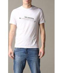 armani exchange t-shirt armani exchange crew neck t-shirt with influencer print