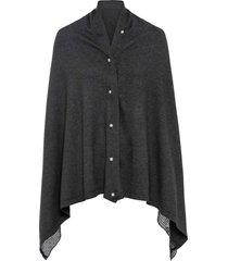 scialle-poncho (grigio) - bpc bonprix collection