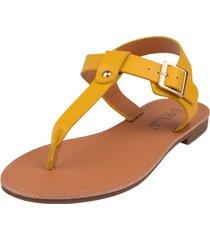 sandalia chole amarillo weide