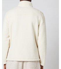 polo ralph lauren men's vintage fleece mockneck sweatshirt - winter cream - xxl