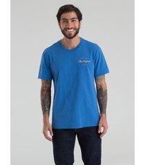 camiseta azul levis
