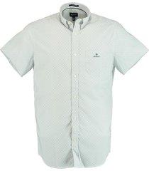 gant overhemd micro dot wit rf 3012271/110