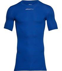 pro control compression tee unisex t-shirts short-sleeved blå craft