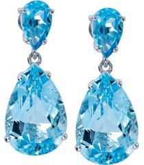 women's drop earrings in sterling silver