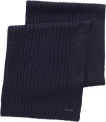 boss men's dorian scarf & beanie hat set