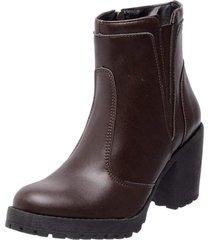 bota coturno mega boots 1406 café