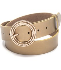 inc circle-buckle belt, created for macy's
