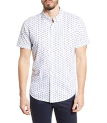 men's bonobos slim fit short sleeve button-down knit shirt