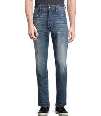 g-star raw men's g-bleid slim jeans - antic fade - size 33 32