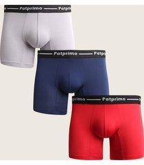 combo pantaloncillo boxer medio paq x3-s