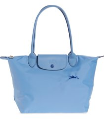 longchamp le pliage club small shoulder tote - ivory