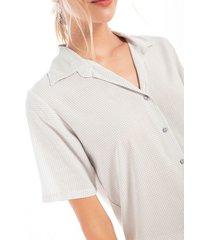 pij p/l y camisa m/corta est con botones1577001l estampado  options intimate