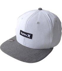 gorra hombre hurley one and only hats snap-blanco con envio gratis