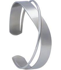 bracciale bangle rigido acciaio per donna