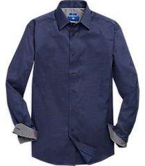 egara blue check sport shirt