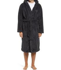 men's ugg beckett plush robe, size medium/large - black
