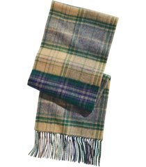 club room men's plaid patchwork cashmere scarf, created for macy's