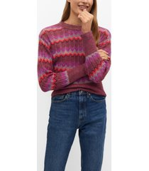 mango women's knit sweater