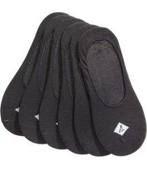 sperry men's socks 6-pack, solid canoe liners