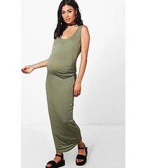 maternity mia basic midaxi dress