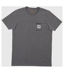 camiseta m/c box out masculina