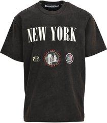 alexander wang alexander wang new york print t-shirt