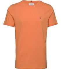nørregaard t-shirt t-shirts short-sleeved orange les deux