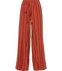 pantaloni in jersey con spacco (rosso) - bodyflirt