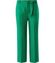 broekrok model bea 100% linnen van basler groen