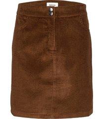stefanie skirt kort kjol brun modström