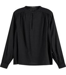 blouse zwart