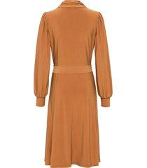 jersey jurk, lange mouw