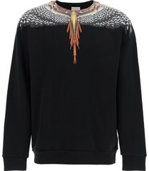 marcelo burlon sweatshirt with grizzly wings print