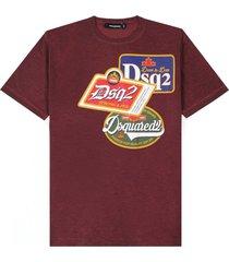 printed logo t-shirt colour
