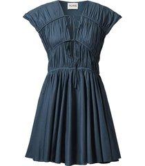 clara gathered dress