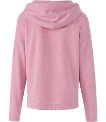 sweatshirt met lange mouwen en capuchon van mybc lichtroze