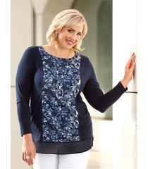 shirt m. collection marine::lichtblauw