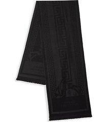 greca & medusa scarf