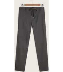 pantalón regular fit chino con cordón en pretina unicolor-30