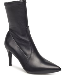 tomba_na_stn shoes boots ankle boots ankle boots with heel svart unisa