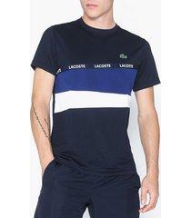 lacoste t-shirt t-shirts & linnen navy