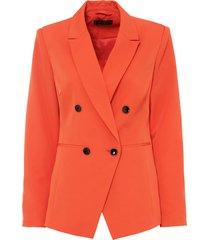 blazer a doppio petto (arancione) - bpc selection