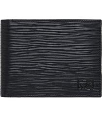 billetera ck signature negro calvin klein