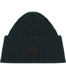 women's allsaints travelling ribbed beanie - green