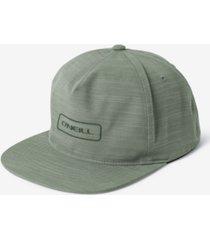 men's hybrid snapback hat