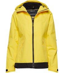 elite windcheater zomerjas dunne jas geel superdry